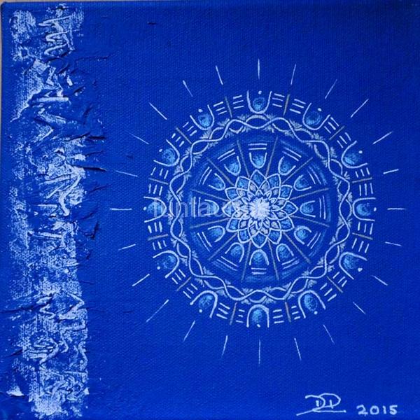 Acryl auf Leinwand / 20 x 20 cm