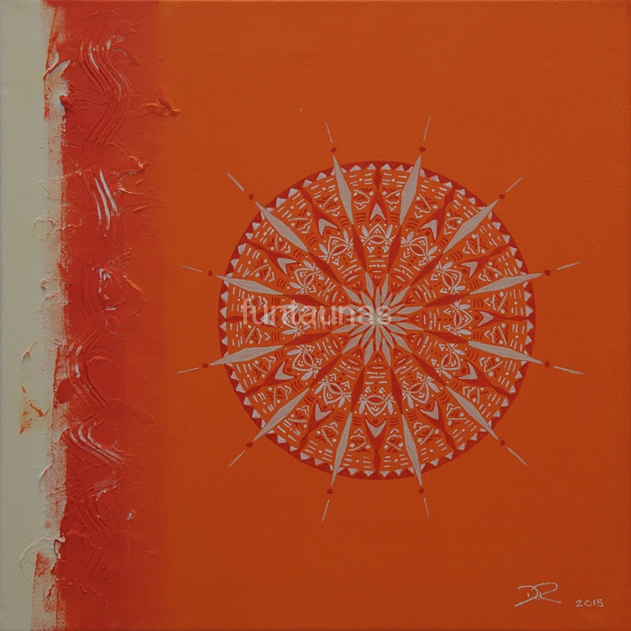 Acryl auf Leinwand / 40 x 40 cm