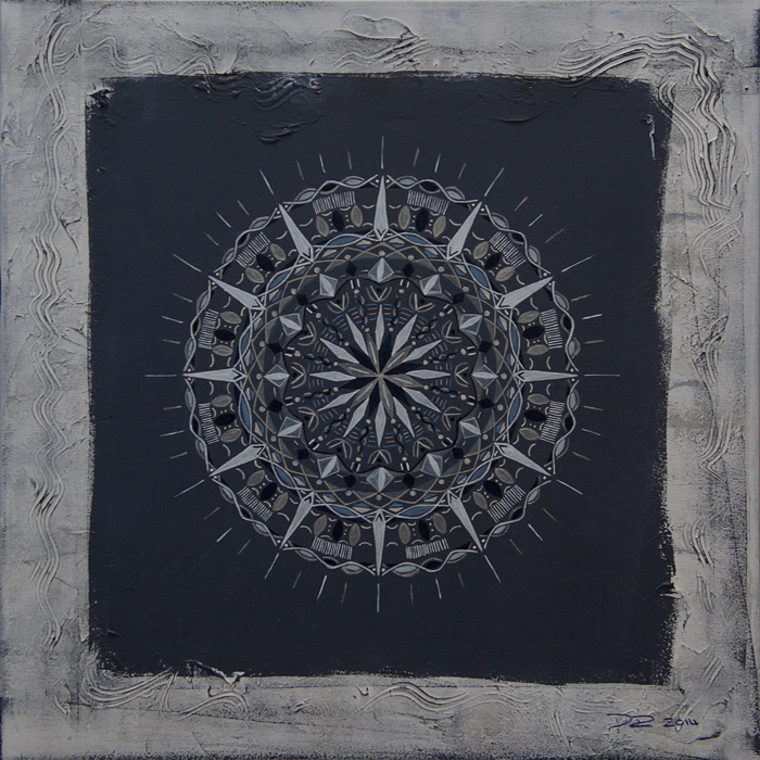 Acryl auf Leinwand / 50 x 50 cm